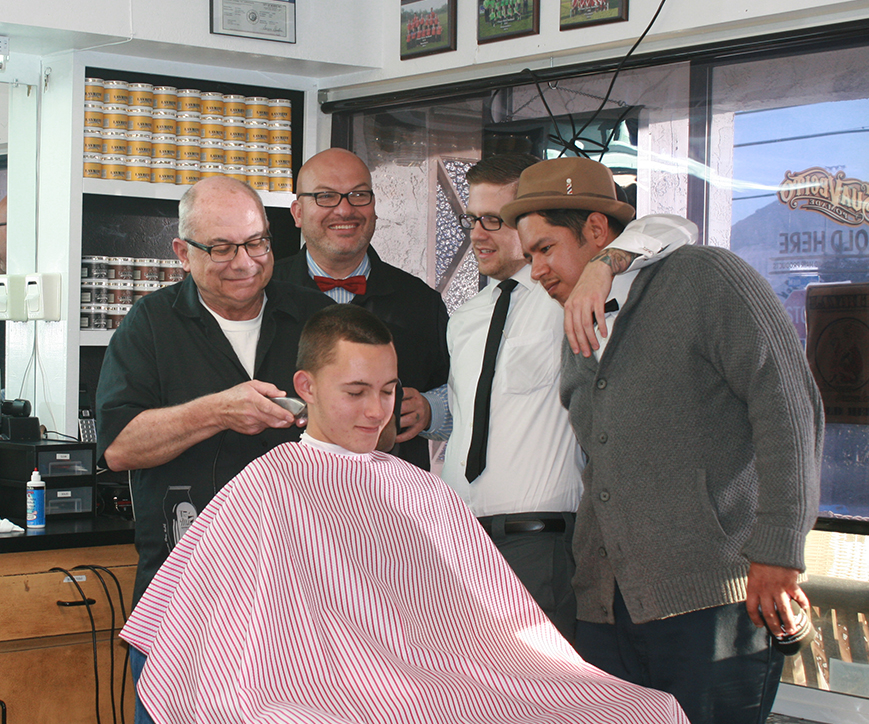 Mike's Barber Shop barber clinic