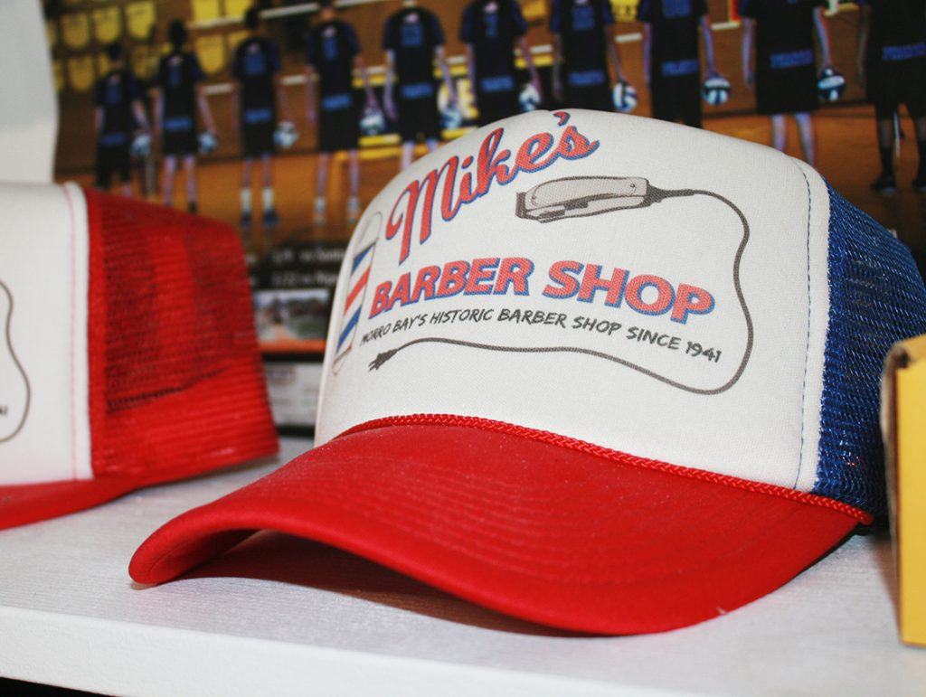 Mike's Barber Shop hat
