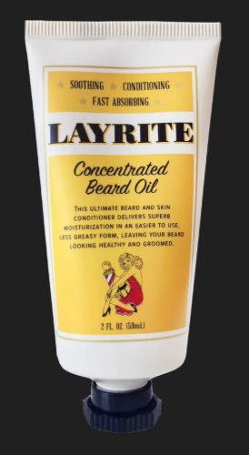 Layrite Beard Oil tube