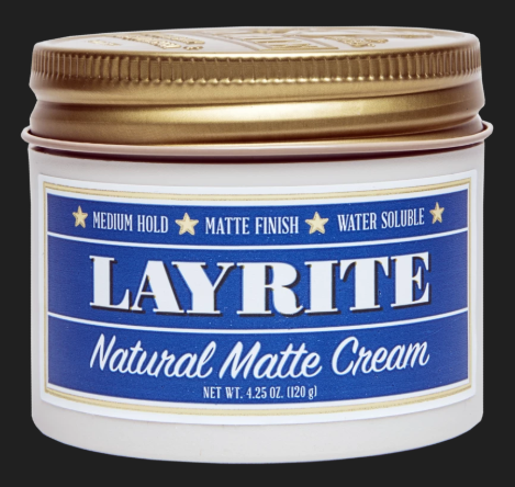 Layrite Natural Matte Cream jar